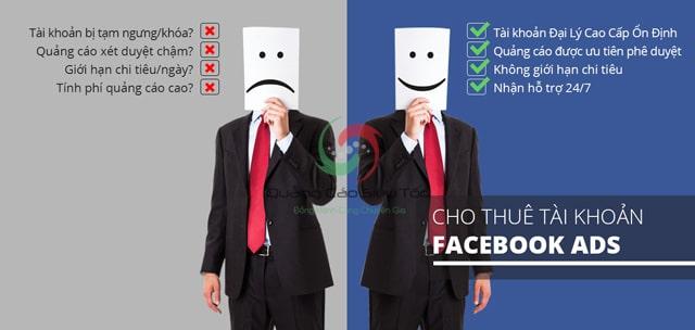 Chạy quảng cáo facebook Ads thuê