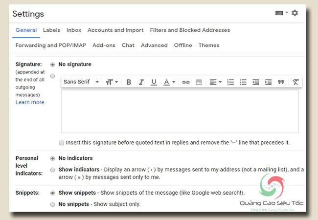 chữ ký email chuyên nghiệp dành cho cá nhân và doanh nghiệp