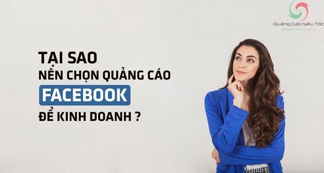 Có nên chạy quảng cáo trên facebook ?