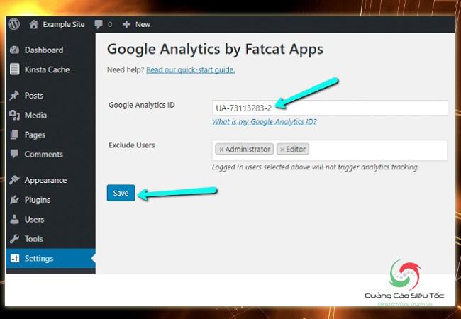 Chèn code Google Analytics vào Wordpress bằng plugin cơ bản nhất