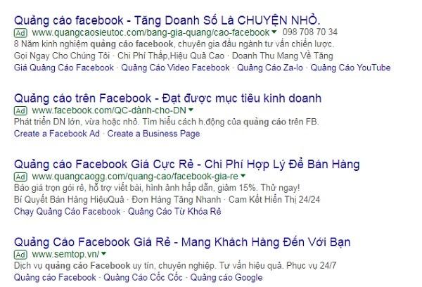 Công ty quảng cáo Google ở HCM