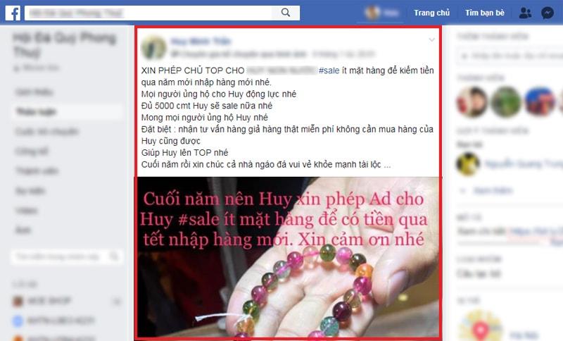 Content câu like trong Group bán hàng Facebook