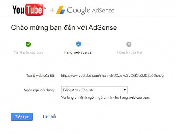 Cách ĐĂNG KÝ GOOGLE ADSENSE cho Kênh Youtube