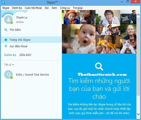 đăng ký skype