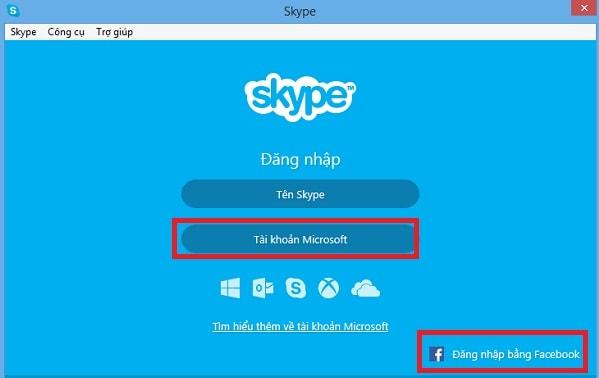 tạo tài khoản skype tạo skype
