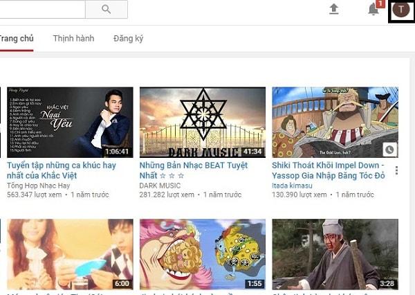 cách tạo tài khoản youtube
