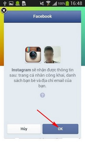 đăng nhập instagram bằng facebook dang nhap instagram