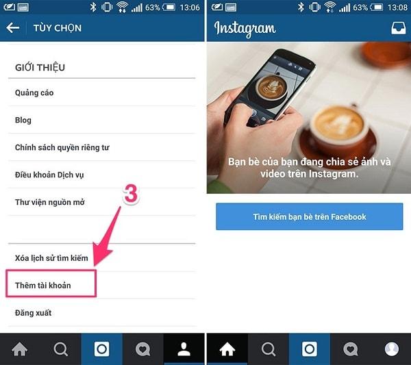 Cách Đăng Nhập Nhiều Tài Khoản Instagram Trên Cùng MỘT Thiết Bị