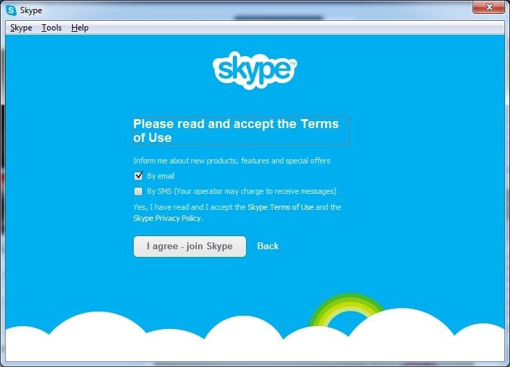 đăng nhập skype bằng facebook đăng nhập skype trên web