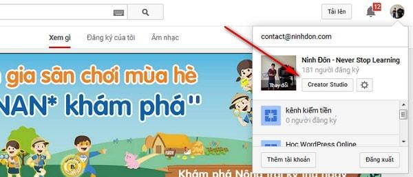 Hướng Dẫn Cách TẠO DANH SÁCH PHÁT Cho Kênh Youtube