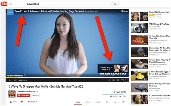 Những Định Dạng Quảng Cáo Phổ Biến Trên Youtube
