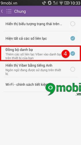 Đồng Bộ Danh Bạ Thiết Bị Sam Sung, Iphone Với Viber