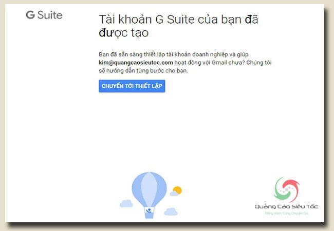 hướng dẫn tạo email doanh nghiệp google chuyên nghiệp