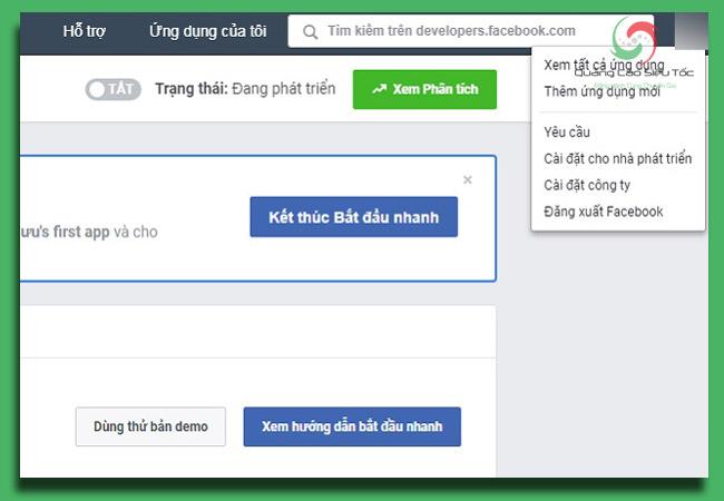 facebook app id dành riêng cho mỗi ứng dụng facebook