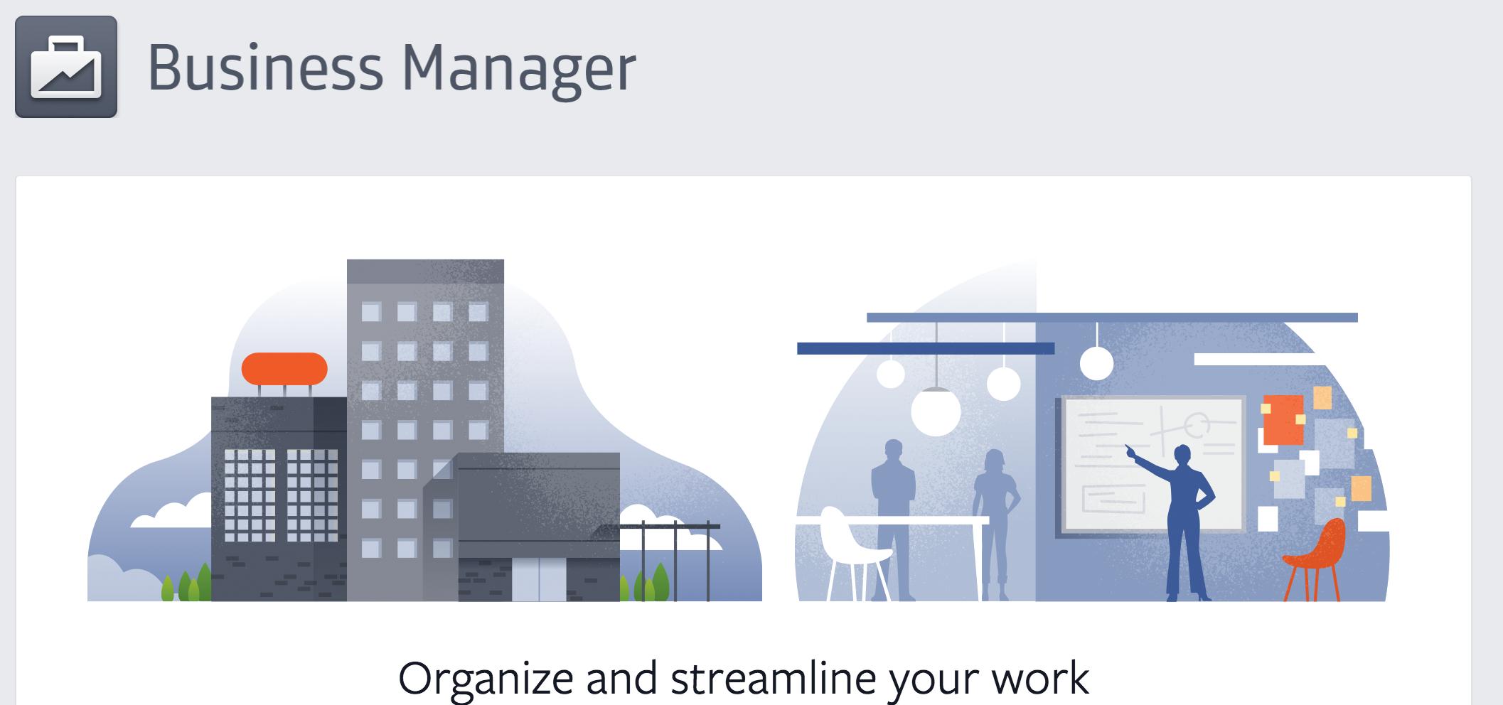 Hiêu jquar sử dụng tài khoản Facebook Business manager