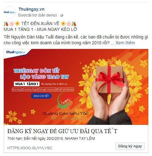 Khả năng hiển thị quảng cáo được quyết định 100% bởi giá thầu