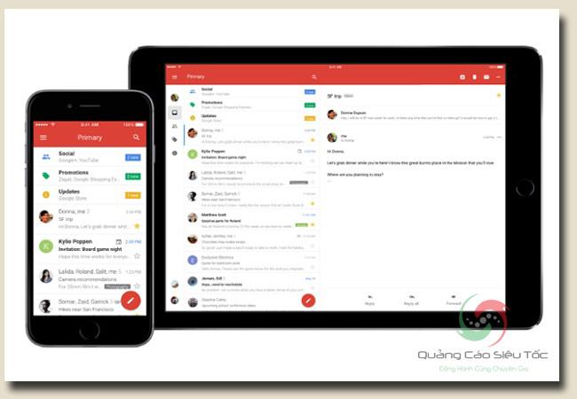 gmail là gì? Gmail có thể sử dụng trên thiết bị nào