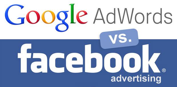 quang cao tu khoa google va quang cao facebook