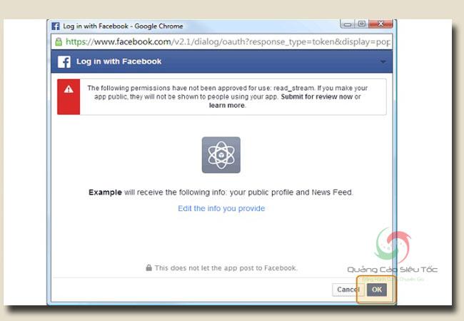 hack facebook người khác thông qua việc thu thập token