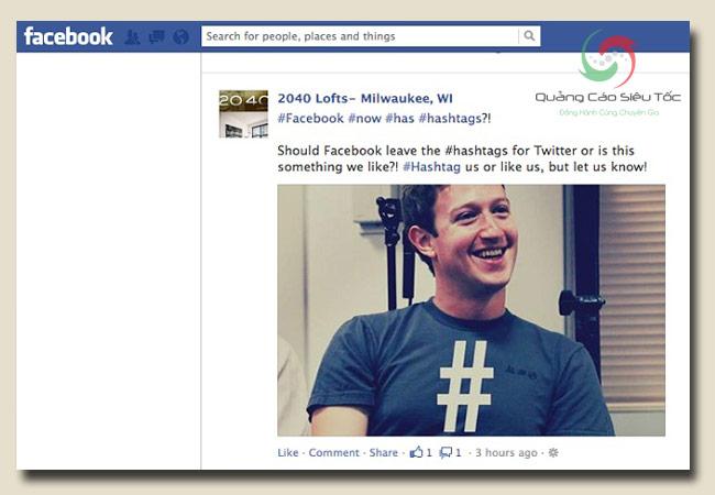 hashtag facebook và định nghĩa cơ bản
