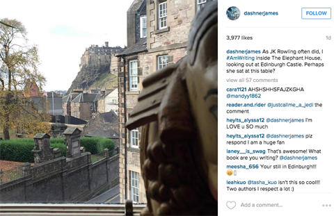 hashtag tren quang cao instagram