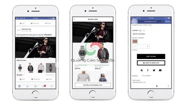 Quảng cáo bộ sưu tập Facebook (Collection Ads)