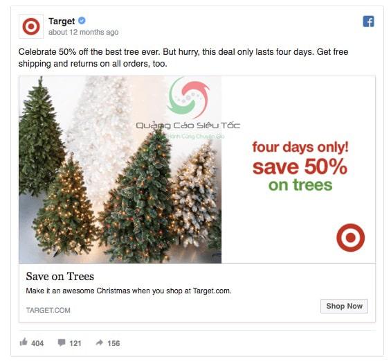Quảng cáo nhận ưu đãi trên Facebook (Offer Claims)