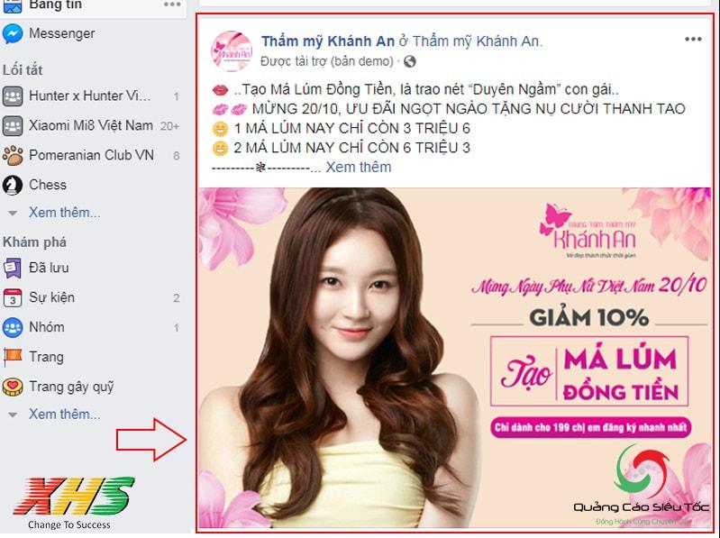 Học các hình thức quảng áo Facebook