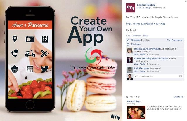 Học cách viết nội dung quảng cáo Facebook