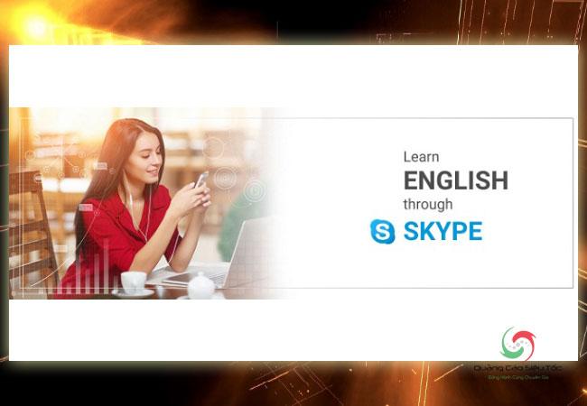 Học tiếng anh qua Skype một cách hiệu quả