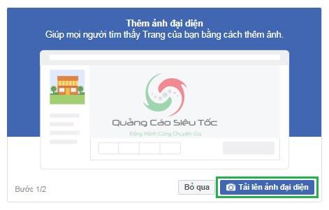cách tạo fanpage trên facebook nâng cao