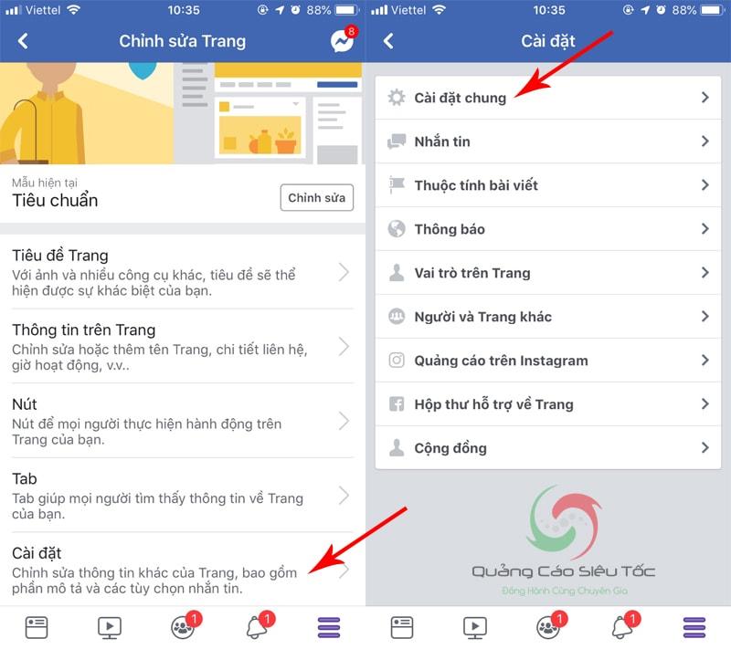 hướng dẫn cách xóa 1 trang fanpage trên facebook