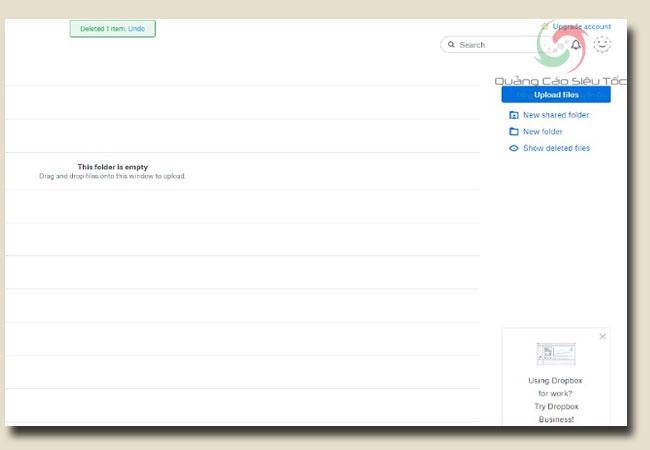 Hướng dẫn sử dụng dropbox để lưu trữ tập tin