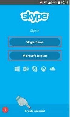 hướng dẫn sử dụng skype trên điện thoại