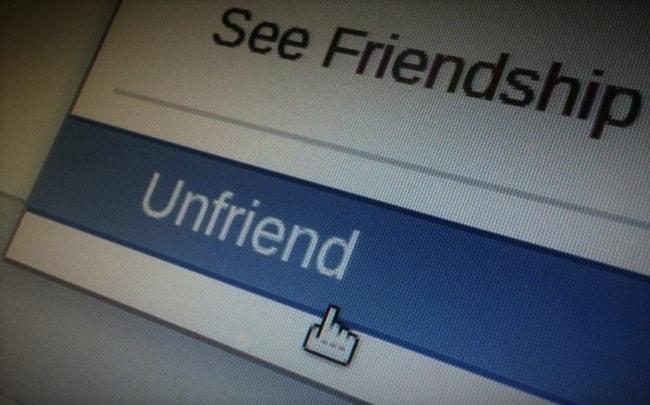Lý Do Mà Người Ta Hủy Kết Bạn Facebook Với Bạn?