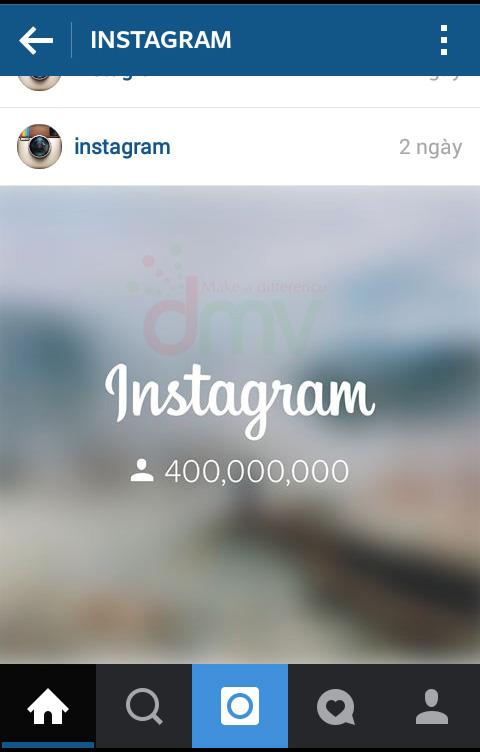 Instagram cán mốc 400 triệu người dùng
