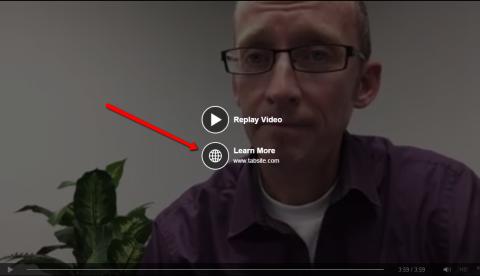 Kết hợp nút CTA cho kêu gọi chuyển đổi hành vi - Mẹo quảng cáo video trên Facebook