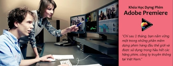 Khóa Học Dựng Phim Với Adobe Premiere