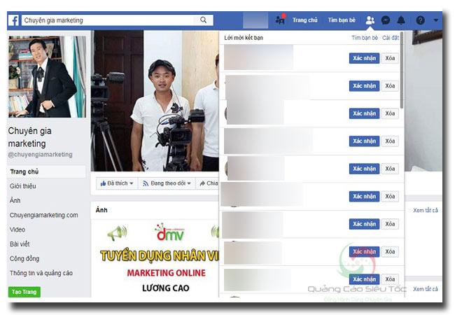 Không kết bạn được trên Facebook vì full lời mời kết bạn