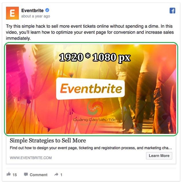 Kết quả hình ảnh cho Event facebook Ads