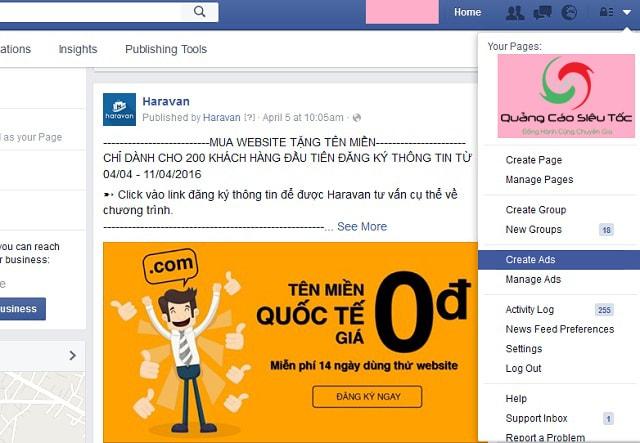 Kiếm tiền từ quảng cáo facebook