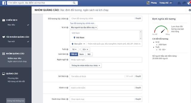 kinh nghiem quang cao tren facebook thanh cong