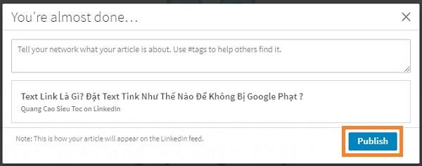 Cách Lấy Backlink Trên Linkedin