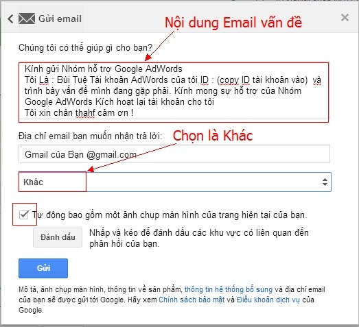 Hướng Dẫn Cách Liên Hệ Google Việt Nam Để Nhận Hỗ Trợ