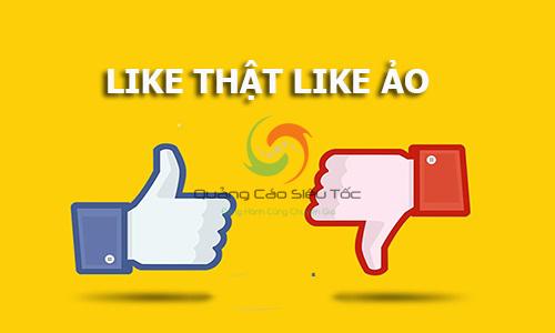Like ảo trên facebook