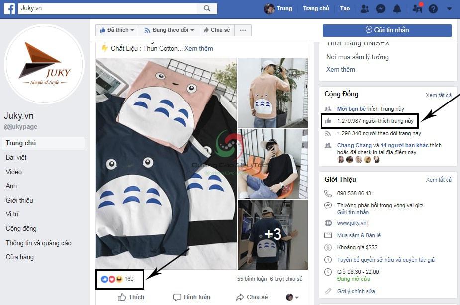 like page là gì