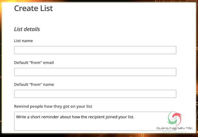 Mailchimp là gì? Cách tạo danh sách mail bằng phần mềm