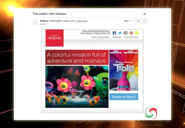 Mầu email marketing dành cho giới thiệu sản phẩm mới