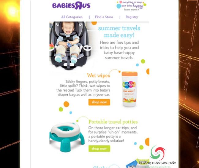 Mẫu email marketing dành cho hướng dẫn sử dụng sản phẩm