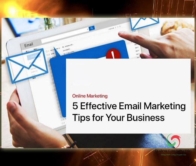 Mẫu email marketing hình ảnh sáng tạo